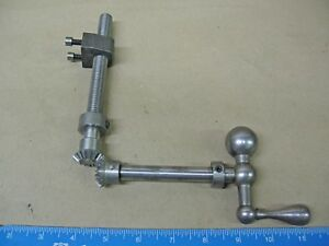 Ammco delta Metal Shaper Table Elevating Screw And Nut Assembly