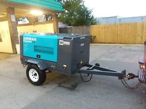 2016 Airman 185cfm Diesel Air Compressor