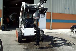 Takeuchi Skid Steer Auger Pkg By Mcmillen 5 Year Warranty choice Of 6 9 or 12