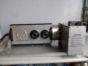Recently Serviced No Backlash With Warranty Haas T5c2 Rotary Table Hrt 210 John