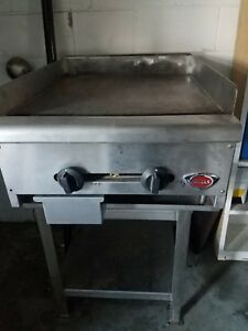 Restaurant Equipment Package Star Wells Gas Griddle Imperial Gas Fryer