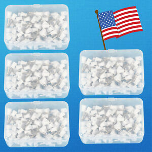 500pcs Dental Rubber Prophy Angle Cup Tooth Polish Cups Brush Latch Type White 5