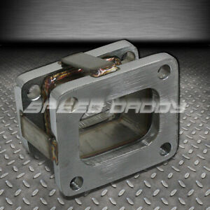 T3 To T4 Stainless Flange Turbo Turbocharger Exhaust Manifold Adapter Conversion