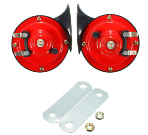 12v 135db 510hz Motorcycle Dual Tone Snail Air Horn