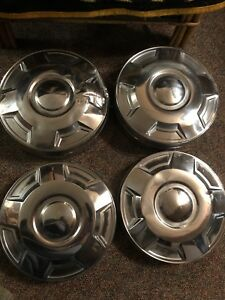 4 3 4 Ton Ford Truck Dog Dish Hubcaps