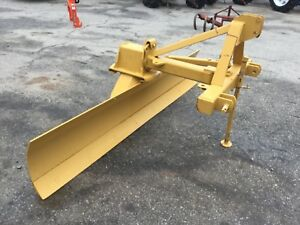 Nice Bushhog 8ft Heavy Duty Angle Tilt And Offset 3 Point Hitch Scrape Blade