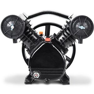 3hp 2 Piston V Style Twin Cylinder Air Compressor Head Us