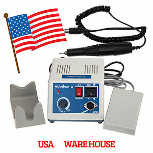 Marathon Dental Lab Electric Micromotor 35k Rpm Motor Handpiece Polisher Us Usa