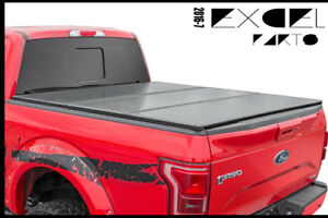 Aluminum Hard Tri fold Tonneau Cover For 2004 2018 Ford 150 5 5ft Short Bed