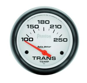 Auto Meter 5857 Transmission Temperature 25 8 Phantom Analog Gauges
