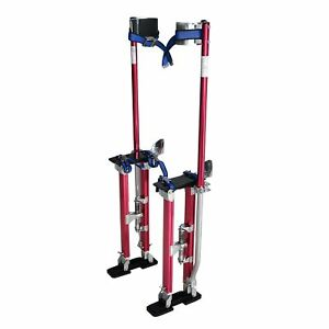 Steel Core 18in 30in Adjustable Aluminum Drywall Stilts Tool For Painting