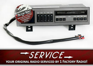 Reman Service For 1988 1994 Chevy Gmc Truck Radio Eq Cassette Deck Black Buttons