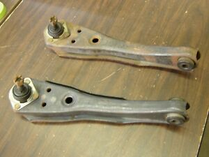 Nos Oem Ford 1971 1972 1973 Mustang Cougar Lower Control Arms Granada Monarch