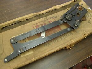 Nos Oem Ford 1949 1950 4 Door Window Regulator Lh Splined Post Custom Coupe