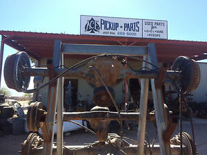92 00 Chevy S10 Pickup Gmc Sonoma Hombre 4x2 3 73 7 5 8 Ring Rear End Axle