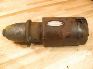 Vintage Antique Oliver 70 Gas Farm Tractor Engine Delco Remy Starter 738 U
