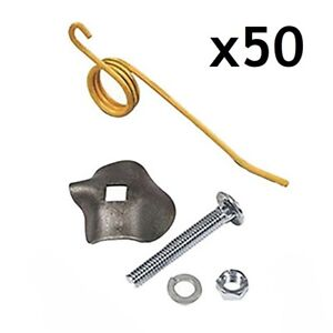 64562 792493k New Kit Of 50 Rake Teeth Holders Nuts And Bolts Ford Nh 55 56 57
