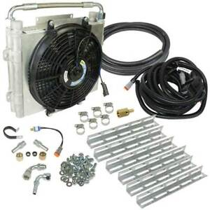 Bd Power Xtrude Double Stacked Auxiliary Trans Cooler Kit For 01 16 Allison 1000