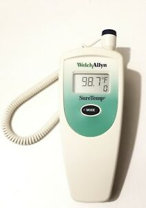 Welch Allyn Suretemp 678 Digital Thermometer With Wall Mounting Holder