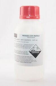 16oz 192oz Nitric Acid 70 Concentrated Acs Lab Grade Best For Gold Refining