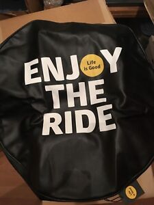Life Is Good Enjoy The Ride Lig Tire Cover Fit 32 Inch Diameter Nwt