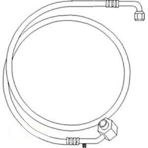 70276112 New Compressor To Condensor Line For Allis Chalmers 8030 8050 8070