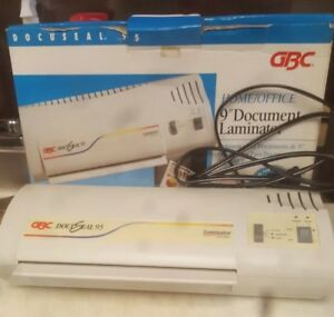 Gbc Docuseal 95 Home office 9 Document Laminating Machine With 100 Pouches