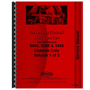 New International Harvester 5288 Engine Chassis Only Service Manual