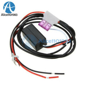 Auto Car Led Daytime Running Light Relay Harness Drl Control Dimmer On Off 12v