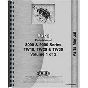 New Ford 9000 Tractor Parts Manual