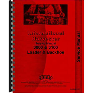 New International Harvester 3121a Tractor Service Manual