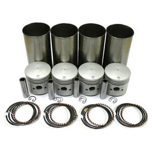 Apn6055e New Ford Tractor Sleeve Piston Kit 040 Thin Wall 2n 8n 9n