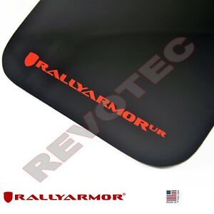 Rally Armor Mud Flaps For 2015 2018 Vw Mkvii Golf R W Red Logo