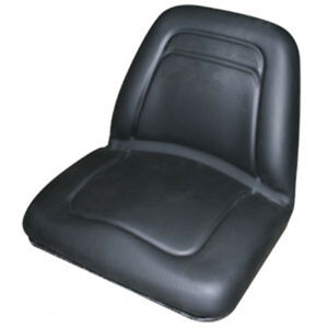 Black Michigan Style Deluxe Seat For Minneapolis Moline Tractor