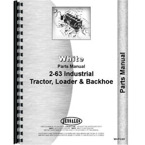 Oliver 2 63 Tractor Parts Manual