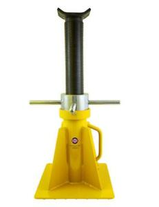 Esco Equipment 10803 20 Ton Screw Style Jack Stand Tall Model 1 Jack Stand