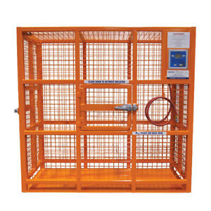 Esco Equipment 90423 76 Automatic Hd Tire Inflation Cage
