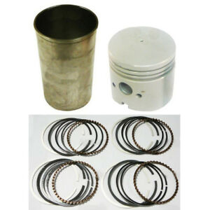 Fpn6055a 4 Pistons Rings Liner Kit 4 Bore For Ford Tractor 800 801 900 901 4000