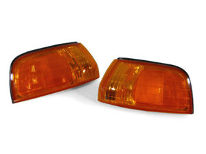 Depo Jdm Style Pair Of Amber Front Corner Lights For 1992 1993 Honda Accord