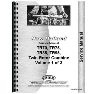 New Holland Tr85 Combine Rotor Service Manual