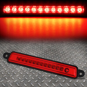 For 05 15 Nissan Armada Infiniti Qx56 Led Third 3rd Tail Brake Light Lamp Red