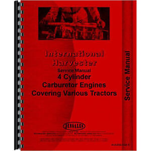Ih s eng460etc International Harvester Td9b Crawler Engine Service Manual