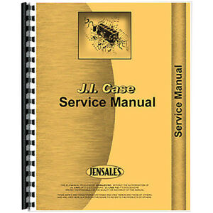 Tractor Service Manual For Case D