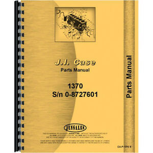 New Case 1370 Tractor Parts Manual