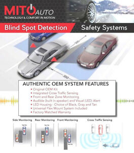 Mito 60 oebskv2 Universal Blind Spot Detection Safety Systems W 2 Transceivers