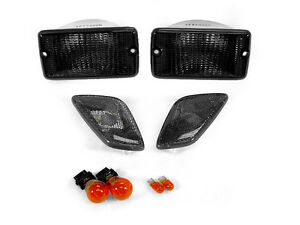 Depo Smoke Bumper Signal fender Side Marker Light For 1997 2006 Jeep Wrangler Tj