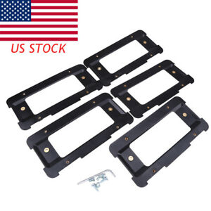 5x Rear License Plate Bracket Shade Cover Screw Wrench For Land Rover Vehicle