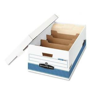 Bankers Box Stor file Dividerbox Legal Storage Boxes case Of 12
