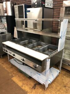 Vollrath 38118 Steam Table 4 Wells Electric 208 240 Volts 2400 3400 Watts