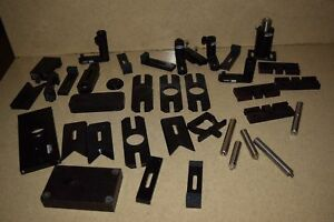 Oriel Optical Lot Of 35 Pieces Mounting Pieces Optical Rods or3